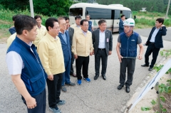 영광군, 제19호 태풍 '솔릭' 선제적 대응으로 피해 예방