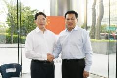 조현준 회장, 中 저장성과 만나 사업협력 논의