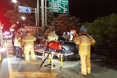 중부내륙고속도로 3중 추돌사고…2명 사망