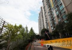금천구 '땅꺼짐' 아파트 주민 귀가 거부…76가구 중 6곳만 입주