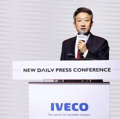 """최정식 지사장 """"'이베코' 혁신적 기술 친환경 요구 충족했다"""""""