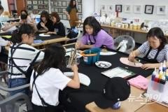 국제수묵비엔날레, 초․중생 체험학습장으로 '각광'