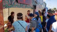 aT, 세계유목민대회에서 한국 농식품 소비자체험 행사 개최