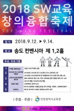 인천시교육청, `SW교육 창의융합축제` 개최