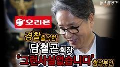 담철곤 오리온 회장,'회삿돈으로 초호화' 별장?…'그런 사실 없습니다' 혐의 부인