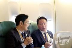 """최태원 SK 회장 """"지금은 北 투자 말할 타이밍 아니다"""""""