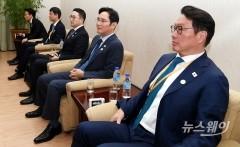 """리룡남 만난 이재용 """"신뢰 관계 쌓는 기회 되기를"""""""