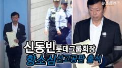 신동빈 롯데그룹 회장 항소심 선거공판