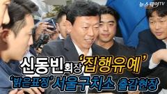 신동빈, 항소심서 집유 234일만에 석방