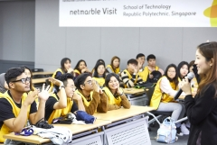 넷마블문화재단, 싱가포르 리퍼블릭 폴리테크닉대학 대상 '넷마블견학프로그램' 실시