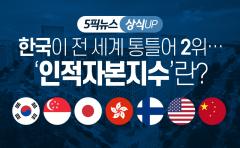 한국이 전 세계 통틀어 2위…'인적자본지수'란?