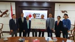 중부발전, 인도네시아 지진피해 복구에 10만 달러 구호성금 지원