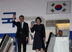 문 대통령, 아셈(ASEM) 참석차 브뤼셀 도착…비핵화·평화 강화