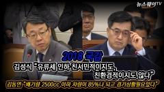 """김성식 """"유류세 인하혜택, 친서민·친환경 아냐"""""""