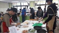인천도시공사, 가족봉사단 청소년들과 반찬 나눔 활동 펼쳐