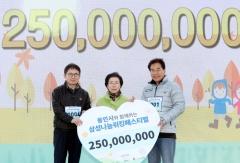 용인시, '삼성나눔워킹페스티벌' 개최...2억5천만원 모금