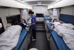 인천시설공단, `사랑의 헌혈운동` 동참