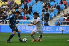 대구FC, 인천에 1대0 승리로 7위 등극