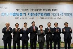 황인홍 무주군수, 마을만들기 지방정부협의회 공동회장 선출