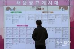 1월 구직급여 6256억원…역대 최대치