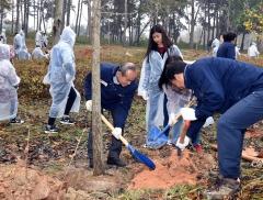 김제시, 시민과 함께하는 숲가꾸기행사 진행