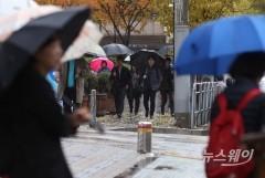 동해안 아침까지 비…중부지방 오후 빗방울