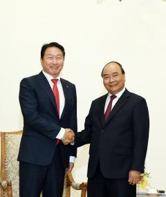 최태원 SK회장, 베트남 총리 면담…민-관 협력 확대