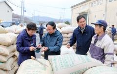 심 민 임실군수, 전 지역 수매현장 직접찾는 농업행정 시동