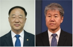 """홍남기 """"부총리가 중심"""", 김수현 """"투톱같은 말 안나올 것"""""""