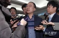 홍남기 후보자, 새벽버스 승차·中企 방문…'민생 파악' 행보
