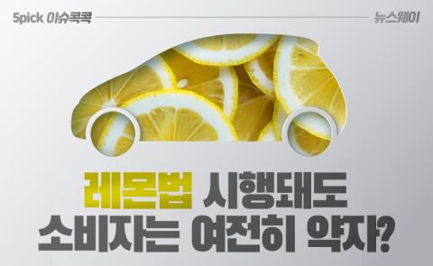 레몬법 시행돼도 소비자는 여전히 약자?