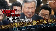 '횡령·배임' 이중근 부영 회장, 징역 5년·벌금 1억 법정구속 면해
