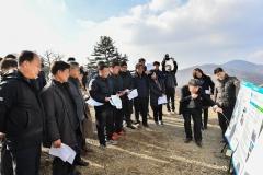 강원도의회 농수위, 정선알파인경기장 방문