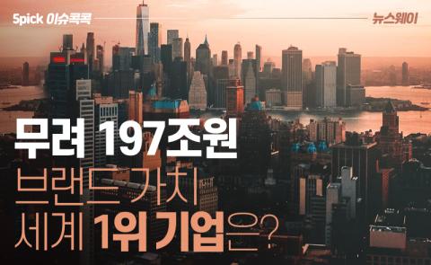 '무려 197조원' 브랜드 가치 세계 1위 기업은?