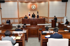 정선군의회, 제250회 정례회 개최