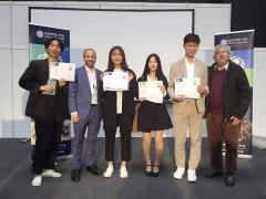 경북대생, 유럽 실습기업 무역박람회에서 우수창의아이템상 수상