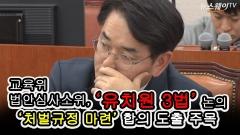 '유치원 3법' 여야 평행선…'처벌규정' 합의 도출 주목