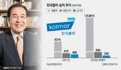 윤동한의 신의 한수…'1조 클럽' 첫발 내딛는 한국콜마