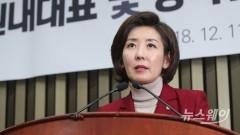 """나경원 """"한국당이 직접 대북특사 파견하겠다"""""""