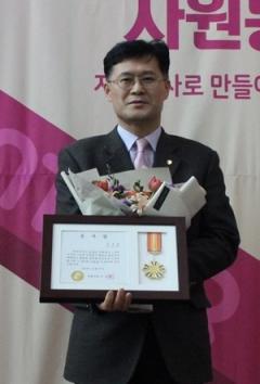 대구한의대 포항한방병원 김무욱 과장, 3년 연속 봉사왕 수상