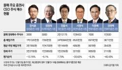 자사주 쇼핑 나선 증권사 CEO···초라한 성적표에 울상