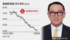 '장수CEO' 명찰 단 이동우 롯데하이마트 대표…40% 빠진 주가 고민