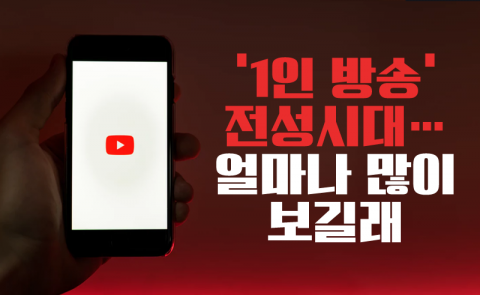 '1인 방송' 전성시대…얼마나 많이 보길래