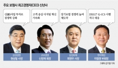 """보험업계 적자생존 본격화…보험 CEO """"위기 속 경쟁력 강화"""" 한 목소리"""