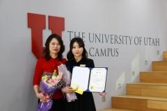 유타대 아시아캠퍼스 반가영, 한국심리학회 로고 디자인 대상 수상