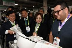 """은수미 성남시장, 미국 CES 참관 """"최신 ICT 기술, '市' 산업 정책 활용 방안 모색"""""""