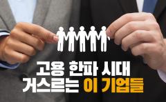 [카드뉴스]고용 한파 시대 거스르는 이 기업들