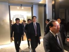 한 자리 모인 오너들…'기업인과의 대화' 참석 위해 총출동