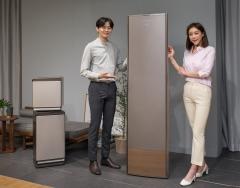 """삼성전자 '무풍에어컨' 공개···""""뉴 빅스비·갤러리아 디자인"""""""