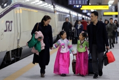 SRT 설 명절 승차권 예매율 54.7%...20일까지 결제해야